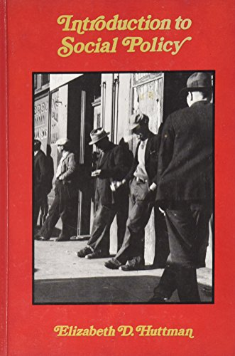 9780070315488: Introduction to Social Policy