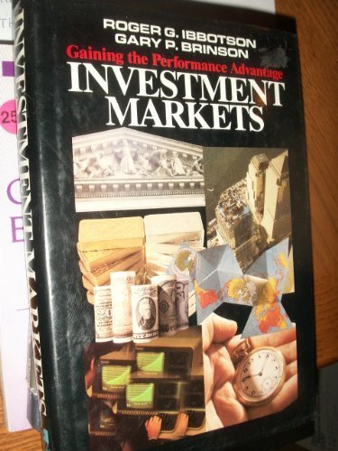 9780070316737: Investment Markets: Gaining the Performance Advantage
