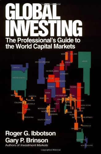 9780070316836: Global Investing: The Professional's Guide to the World Capital Markets