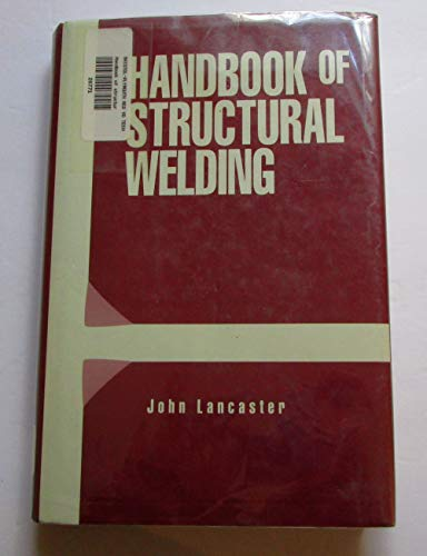 9780070316843: Handbook of Structural Welding