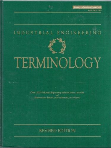 9780070317307: Industrial Engineering Terminology