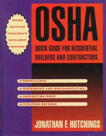 9780070318366: OSHA Quick Guide for Resdential Builders and Contractors with Disk