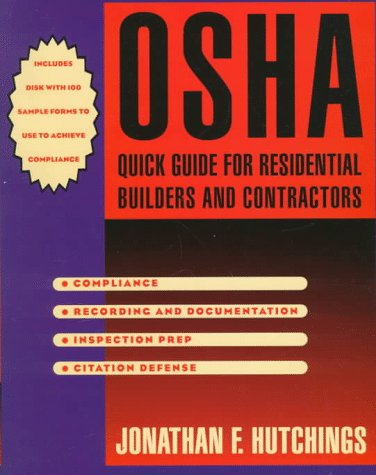 9780070318373: Osha Quick Guide for Residential Builders and Contractors