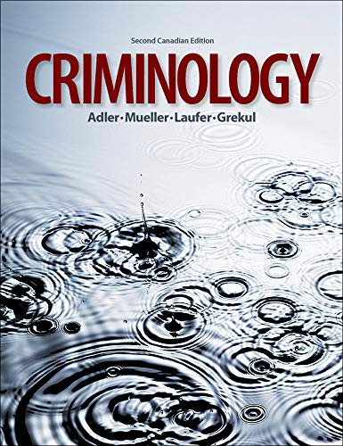 Amazon. Com: criminology (9780073124469): freda adler, gerhard o.