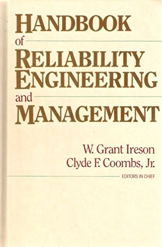 9780070320390: Handbook of Reliability Engineering and Management