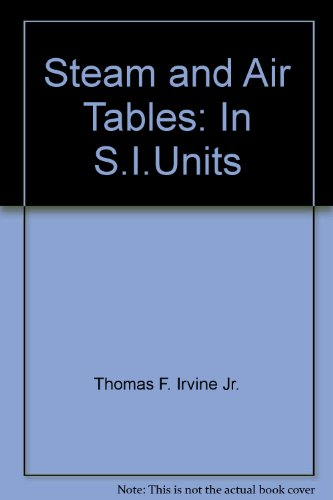 9780070320543: Steam and Air Tables: In S.I.Units