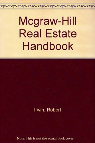 9780070320567: The McGraw-Hill Real Estate Handbook