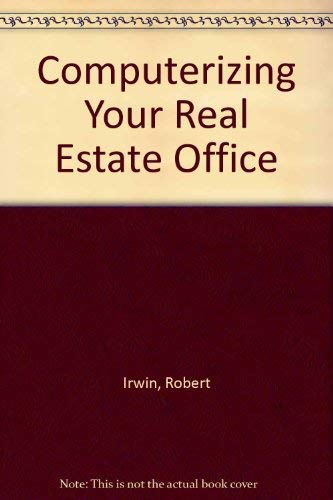 9780070321168: Computerizing Your Real Estate Office