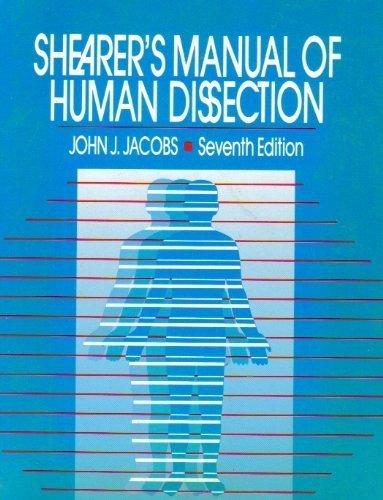 9780070321779: Shearer's Manual of Human Dissection