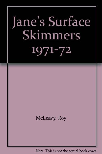 Jane's Surface Skimmers 1971-72: McLeavy, Roy