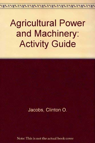 9780070322110: Agricultural Power & Machinery
