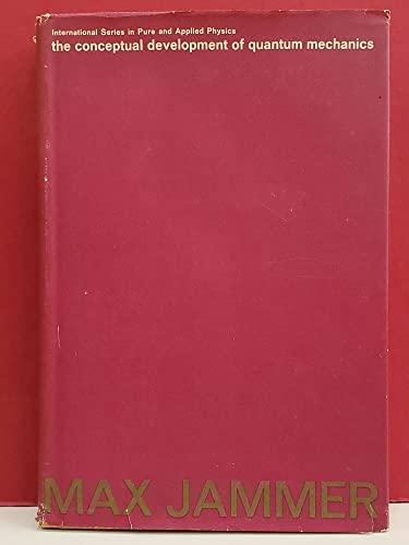 9780070322752: Conceptual Development of Quantum Mechanics (Pure & Applied Physics)