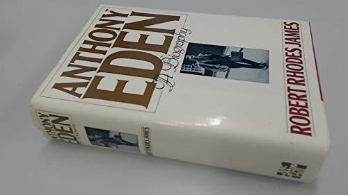 9780070322851: Anthony Eden