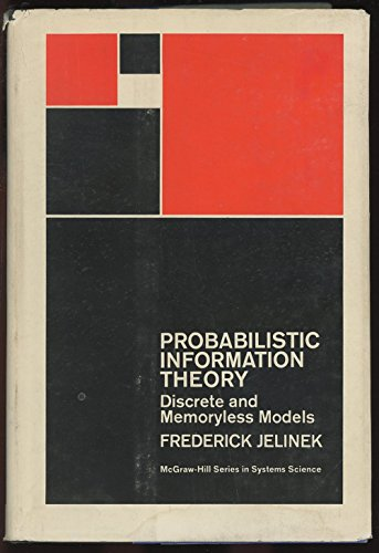 9780070323032: Probabilistic Information Theory (Systems Science)