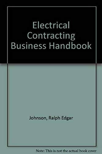 9780070323353: Electrical Contracting Business Handbook
