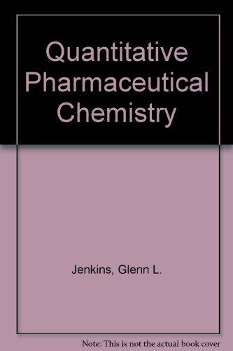 9780070323490: Quantitative Pharmaceutical Chemistry