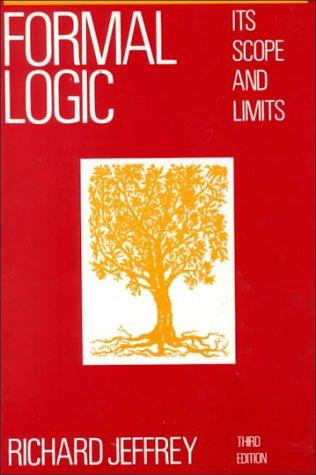9780070323575: Formal Logic: Its Scope and Limits