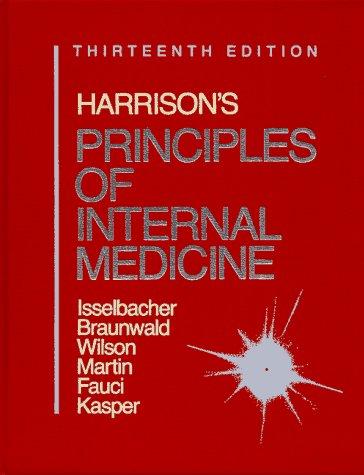9780070323704: Harrison's Principles of Internal Medicine/1 Volume Edition/Full Edition Bk1&2