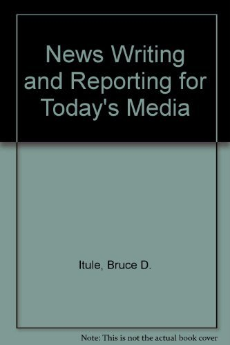 9780070324152: News Writing and Reporting for Today's Media