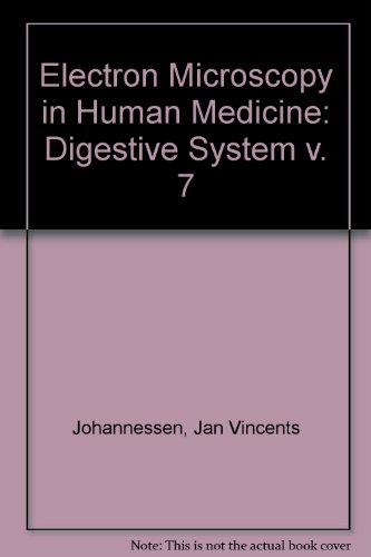 9780070325074: Electron Microscopy in Human Medicine, Vol. 7: Digestive System (v. 7)