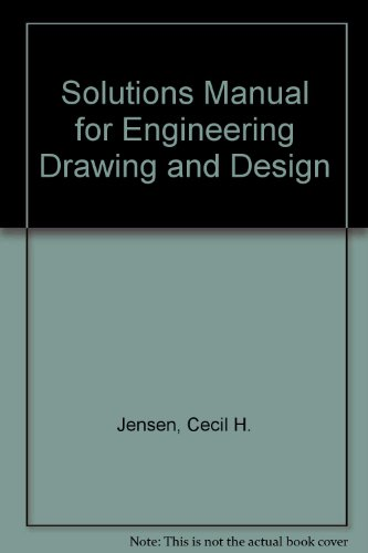 9780070325562: Solutions Manual for Engineering Drawing and Design