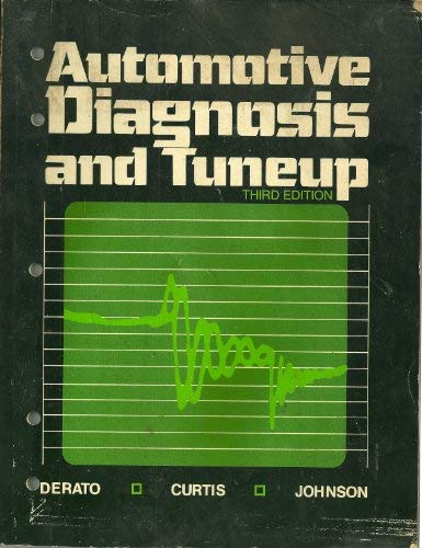 9780070326033: Automotive Diagnosis and Tuneup