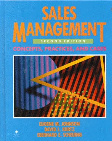 9780070326521: Sales Management: Concepts, Practices and Cases (McGraw-Hill Series in Marketing)