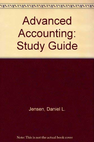 9780070326897: Advanced Accounting