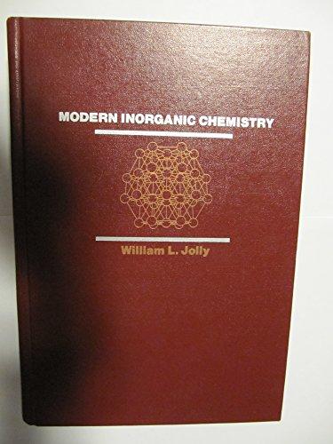 9780070327603: Modern Inorganic Chemistry