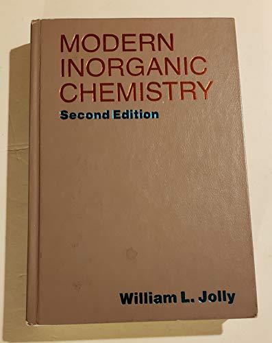 9780070327689: Modern Inorganic Chemistry