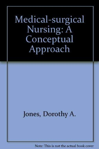 9780070327856: Medical-surgical nursing: A conceptual approach