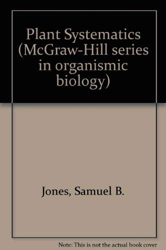 9780070327955: Plant Systematics (McGraw-Hill series in organismic biology)