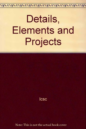 9780070328877: Details, Elements and Projects