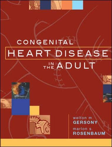 9780070329096: Congenital Heart Disease Adult
