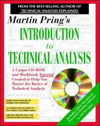 9780070329331: Martin Pring's Introduction to Technical Analysis: A CD-ROM Seminar and Workbook