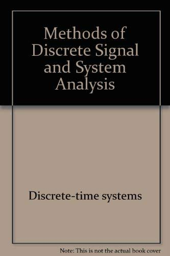 9780070330269: Methods of Discrete Signal and System Analysis (McGraw-Hill Series in Electrical Engineering)