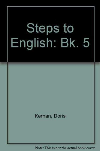 9780070331051: Steps to English: Bk. 5