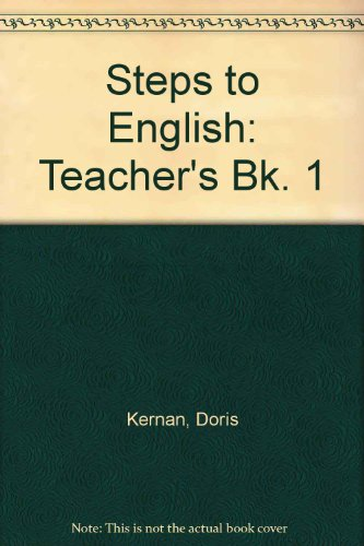 9780070331112: Steps to English Book One: Teacher's Edition (Bk. 1)