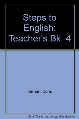 9780070331143: Steps to English Book Four: Teacher's Edition (Bk. 4)