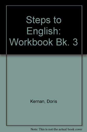 9780070331235: Steps to English: Workbook Bk. 3
