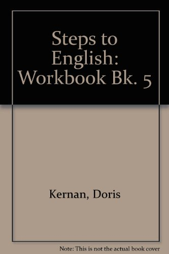9780070331259: Steps to English: Workbook Bk. 5