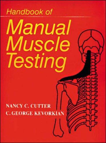 9780070331501: Handbook of Manual Muscle Testing