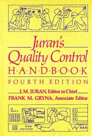 Juran's Quality Control Handbook: J.M. Juran