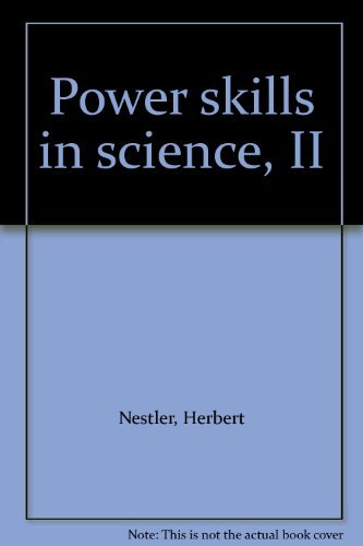 9780070331945: Power skills in science, II