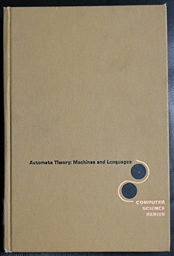 9780070331952: Automata Theory: Machines and Languages (McGraw-Hill computer science series)