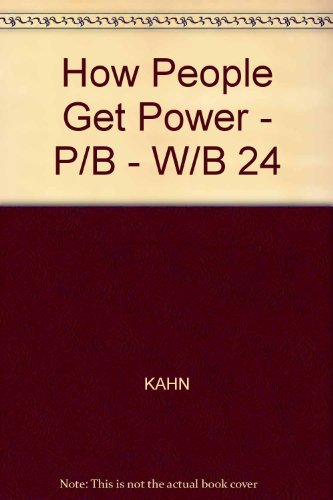 9780070331983: How People Get Power; Organizing Oppressed Communities for Action.