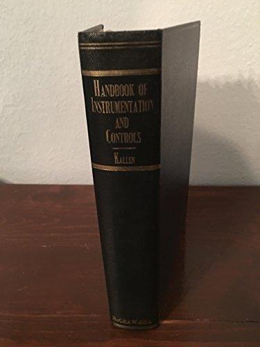 9780070332355: Handbook of Instrumentation and Controls