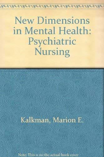 9780070332423: New Dimensions in Mental Health: Psychiatric Nursing