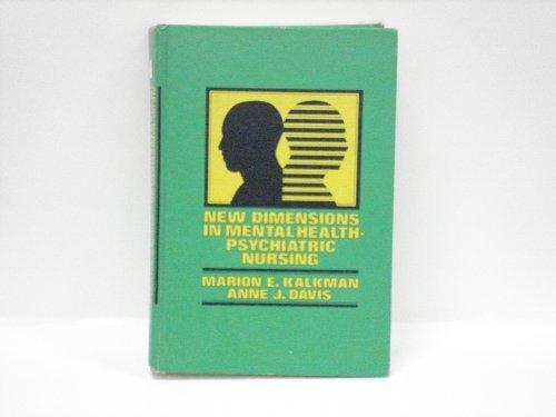 9780070332539: New Dimensions in Mental Health: Psychiatric Nursing