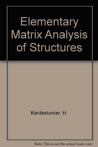 9780070333185: Elementary Matrix Analysis of Structures